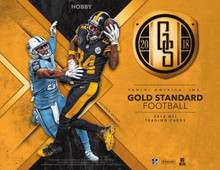 2018 Panini Gold Standard Football Hobby 12 Box Case