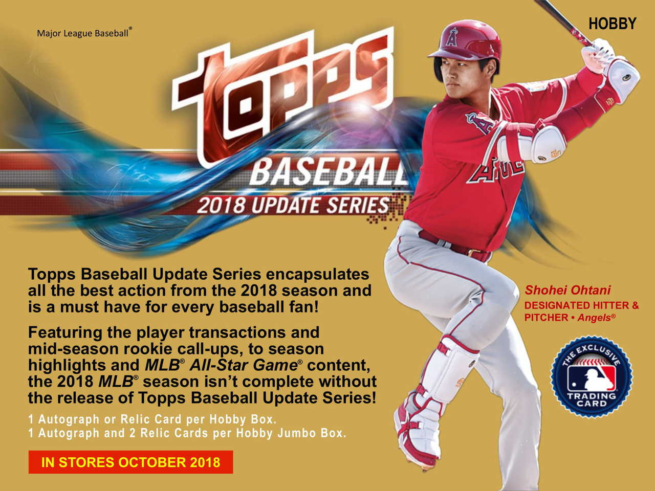 2018 Topps Update Series Baseball Jumbo Hobby Box 2 Silver Packs