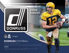 2018 Panini Donruss Football Hobby 18 Box Case