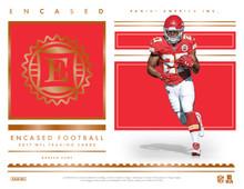 2017 Panini Encased Football Hobby 8 Box Case