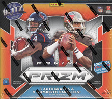2017 Panini Prizm Football Hobby 12 Box Case