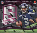 2017 Panini Spectra Football Hobby 8 Box Case