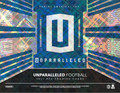 2017 Panini Unparalleled Football Hobby 16 Box Case