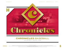 2018 Panini Chronicles Baseball Hobby Box