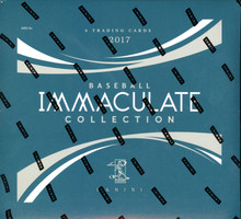 2017 Panini Immaculate Baseball Hobby 8 Box Case