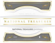2018 Panini National Treasures Baseball Hobby 4 Box Case