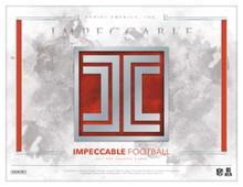 2018 Panini Impeccable Football Hobby 3 Box Case
