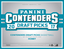 2017/18 Panini Contenders Draft Basketball Hobby 12 Box Case