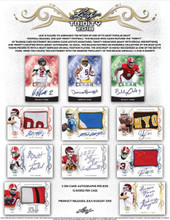 2018 Leaf Trinity Football Hobby 12 Box Case