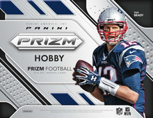 2018 Panini Prizm Football Hobby 12 Box Case