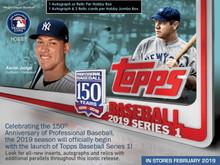 2019 Topps Series 1 Baseball Hobby Box + 1 Silver Pack