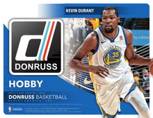 2018/19 Panini Donruss Basketball Hobby 10 Box Case