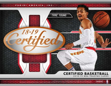 2018/19 Panini Certified Basketball Hobby 12 Box Case