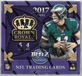 2017 Panini Crown Royale Football Retail 20 Box Case