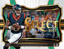 2017 Panini Select Football Hobby 12 Box Case