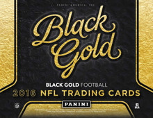 2016 Panini Black Gold Football Hobby 8 Box Case
