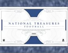 2016 Panini National Treasures Football Hobby 4 Box Case
