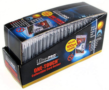 Ultra Pro 100pt Magnetic One Touch Card Holder 25 Count Box