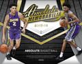 2017/18 Panini Absolute Basketball Hobby 10 Box Case