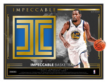 2018/19 Panini Impeccable Basketball Hobby 3 Box Case
