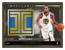 2018/19 Panini Impeccable Basketball Hobby Box