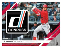 2019 Panini Donruss Baseball Hobby 16 Box Case
