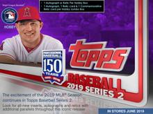 2019 Topps Series 2 Baseball Hobby 12 Box Case