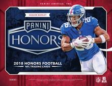 2018 Panini Honors Football Hobby 10 Box Case