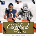 2017 Panini Donruss Certified Cuts Football Hobby 12 Box Case