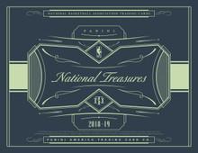 2018/19 Panini National Treasures Basketball Hobby Box