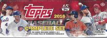 2016 Topps Complete Baseball Hobby Factory Set