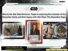 2019 Topps Star Wars Skywalker Saga Hobby 12 Box Case