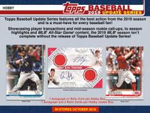 2019 Topps Update Series Baseball Jumbo Hobby Box