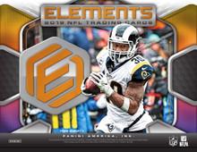 2019 Panini Elements Football Hobby 12 Box Case
