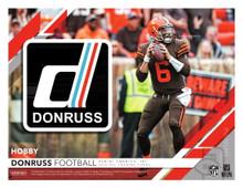 2019 Panini Donruss Football Hobby 18 Box Case
