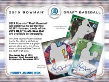 2019 Bowman Draft Baseball Hobby Jumbo Box