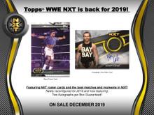 2019 Topps WWE NXT Wrestling Hobby 8 Box Case