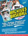 2017 Topps Archives Baseball Hobby 10 Box Case