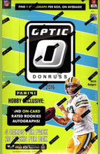 2016 Panini Donruss Optic Football Hobby 12 Box Case