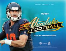 2019 Panini Absolute Football Hobby 6 Box Case