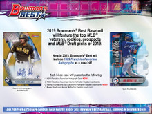 2019 Bowman's Best Baseball Hobby 8 Box Case