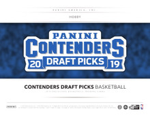 2019/20 Panini Contenders Draft Picks Collegiate Basketball Hobby 12 Box Case