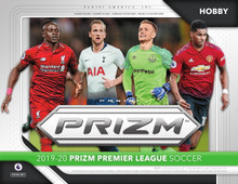 2019/20 Panini Prizm English Premier League Soccer Hobby 12 Box Case