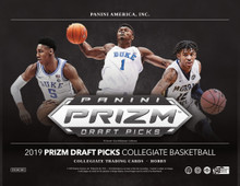 2019/20 Panini Prizm Collegiate Draft Picks Basketball Hobby Box