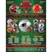 2019 Tristar Hidden Treasures Game Day Greats Autographed Full-Size Helmet Box