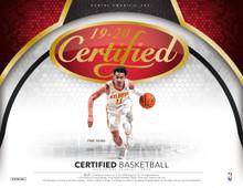 2019/20 Panini Certified Basketball Hobby Box