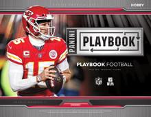 2019 Panini Playbook Football Hobby 8 Box Case