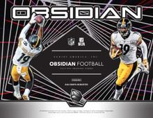 2019 Panini Obsidian Football Hobby 12 Box Case