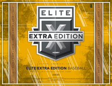 2019 Panini Elite Extra Edition Baseball Hobby Box    Configuration: 5 packs per box. 5 cards per pack.  PRODUCT HIGHLIGHTS - Base cards will be #���d/999 or less, including 12 parallels printed on 7 substrates - Look for Panini-Exclusive Dominican Prospect League (DPL) players in the Base, Autographs DPL Jumbo Material, and new for this year DPL Signatures with on-card autographs! - Look for the 2019 USA Baseball Collegiate National Team to first appear in USA Baseball Collegiate Tickets and USA Baseball Collegiate Silhouette Autographs, and the 2019 18U and 15U USA Baseball National teams in our National Team Signatures. - Look for new sets like First Round Materials, Hidden Gems, and DPL Jumbo Materials! - Find on average 8 autographs and 2 memorabilia cards per box!  BOX BREAK - 8 Autographs - 2 Memorabilia - 7 Numbered Parallels  AUTOGRAPHS ASPIRATIONS - Aspirations Purple - max #���d/100 - Aspirations Blue - max #���d/50 - Aspirations Tie-Dye - max #���d/10 - Aspirations Gold - #���d 1/1  AUTOGRAPHS Look for on-card autographs of top 2019 draft picks and current prospects! Find 14 parallels (#���d/100 or less)! - Autographs (Base) - Emerald - max #���d/25 - Tie-Dye - max #���d/10 - Printing Plate Cyan, Magenta, Yellow, and Black - #���d 1/1  AUTOGRAPHS STATUS-DIE CUT - Status Die Cut Red - max #���d/75 - Status Die Cut Emerald - max #���d/25 - Status Die Cut Tie-Dye - max #���d/10 - Status Die Cut Gold - #���d 1/1  ASPIRATIONS - Aspirations Purple - #���d/250 - Aspirations Red - #���d/150 - Aspirations Orange - #���d/100 - Aspirations Blue - #���d/75 - Aspirations Tie-Dye - #���25 - Aspirations Gold -#���d 1/1  BASE Find this year���s top draft picks and current prospects in 2019 Elite Extra Edition!  STATUS DIE-CUT - Status Die-Cut Purple - #���d/125 - Status Die Cut Red - #���d/99 - Status Die-Cut Blue - #���d/75 - Status Die Cut Emerald - #���d/49 - Status Die Cut Tie-Dye - #���d/25 - Status Die Cut Gold - #���d 1/1  TRIPLE SILHOUETTES Look for top prospects paired with 3 swatches. Find 7 parallels, including 4 prime with a wide range of material! - Black - max #���d/299 - Orange - max #���d/149 - Gold - max #���d/99 - Red - max #���d/49 - Purple - max #���d/25 - Emerald - max #���d/10 - Blue - max #���d/5 - Platinum - #���d 1/1  BASE OPTI-CHROME AUTOGRAPHS Find signatures of the game���s future stars on our popular opti-chrome cards in Base Opti-Chrome Autographs - Base - max #���d/99 - Holo - max #���d/25 - Gold - max #���d/10 - Gold Vinyl - #���d 1/1  FUTURE THREADS SIGNATURES Featuring autographed cards paired withmemorabilia from tomorrow���s biggest stars! - Black - max #���d/299 - Orange - #���d/149 - Gold - max #���d/99 - Red - max #���d/49 - Purple - max #���d/25 - Emerald - max #���d/10 - Blue - max #���d/5 - Platinum - #���d 1/1  NOTE: This product is a Pre-Sell item. Approximate Release Date: Wednesday, December 4, 2019.Release dates are subject to change; When you place an order for this product, you will be locked in at the advertised price. No price adjustments will be made for any future fluctuations in price. Presell deposits are also non-refundable.  If your order includes Pre-sell items, the order will not ship until All Items in the order are in-stock. Please order separately if you would like in-stock items to ship right away