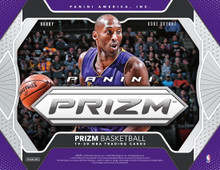 2019/20 Panini Prizm Basketball Hobby 12 Box Case  Configuration: 12 boxes per case. 12 packs per box. 12 cards per pack.   PRODUCT HIGHLIGHTS - Panini Prizm Basketball is back with a new rainbow of Prizms to collect--including the highly coveted Silver Prizms of Ja Morant, RJ Barrett, Rui Hachimura, De'Andre Hunter and more! - Find autographs from rookies, veterans, and all-time NBA Greats in Signatures, Rookie Signatures, and Sensational Signatures. Each has a Prizms Gold version #'d/10 and a Black version #'d one-of-one. - Collect a new roster of inserts, including Fearless, Widescreen, Luck of the Lottery, Fireworks, and Far Out! - Find 2 Autographs and 22 Prizms per Hobby Jumbo Box!   BOX BREAK - 2 Autographs - 22 Prizms  PRIZMS Welcome to the home of the Panini Prizm Basketball card! Look for Prizms of your favorite NBA players, from rookies to all-time greats! 2019/20 Panini Prizm Basketball features a 300-card base set, making that special Prizm pull, that much more special! Look for numbered versions from 299 all the way down to one-of-one!  SIGNATURES Signatures, Rookie Signatures, and Sensational Signatures deliver a wide array of players to collect! Keep an eye out for Prizms Mojo, Prizms Gold, and Prizms Black!  INSERTS Collect incredibly colorful opti-chrome inserts--several of which feature dramatic in-game photography! Collect the three new insert sets Fearless, Far Out!, and Widescreen, which feature a very strong lineup of the games best players.